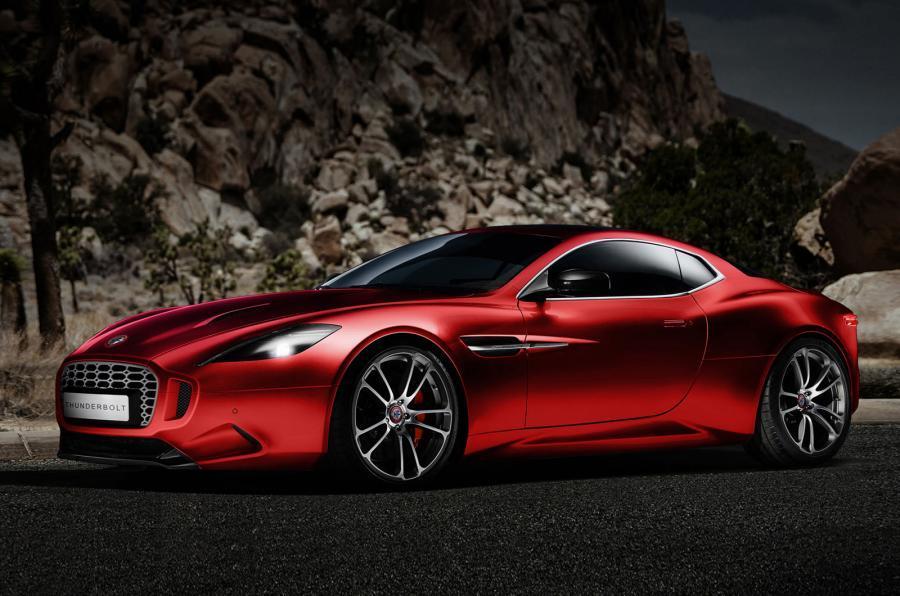 Henrik Fisker tərəfindən dizayn edilən yeni Aston Martin Thunderbolt konsepti
