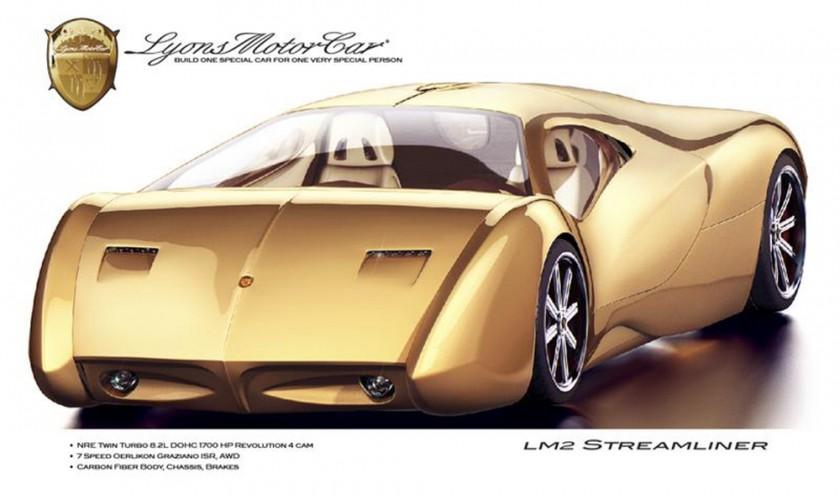 Yeni 1,700 a.g. LM2 Streamliner superkarı