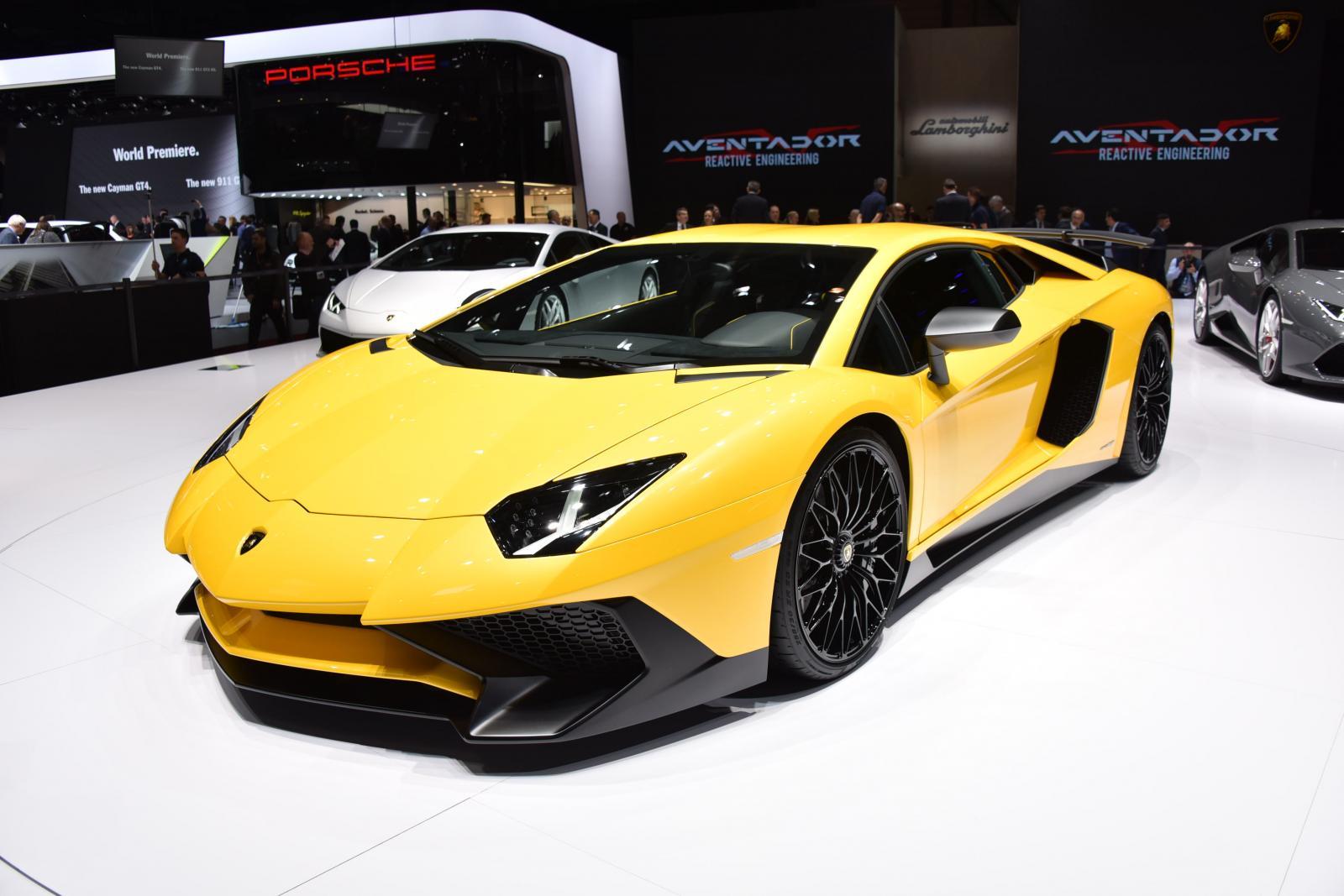 Yeni Lamborghini Aventador SV özəllikləri