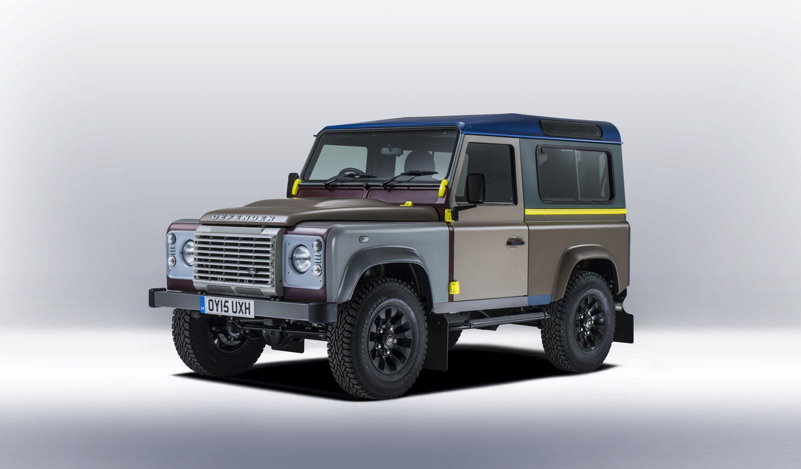 Land Rover və məhşur modelyer-dizayner Paul Smit birgə layihəsi