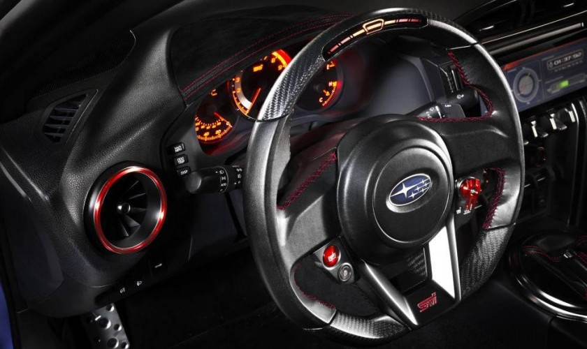 Subaru BRZ STI Performance 2015 Nyu-York avtomobil sərgisində