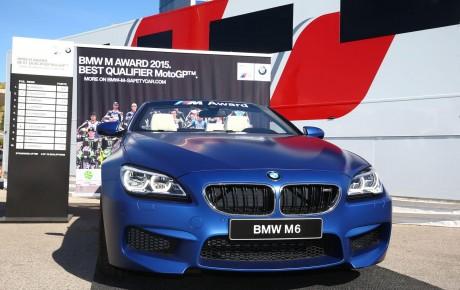"""""""2015 MotoGP"""" təsnifat turniri üçün unikal M6 kabriolet modelinin təqdimatı"""