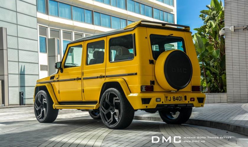 Mercedes G-Class bazasında hazırlanan yeni DMC G88