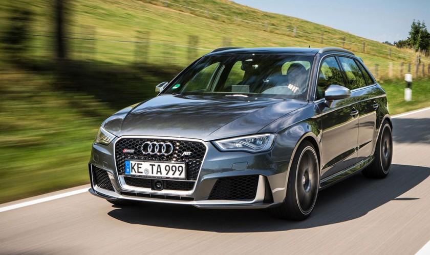 430 a.g. sahib olacaq yeni Audi RS3 Sportback
